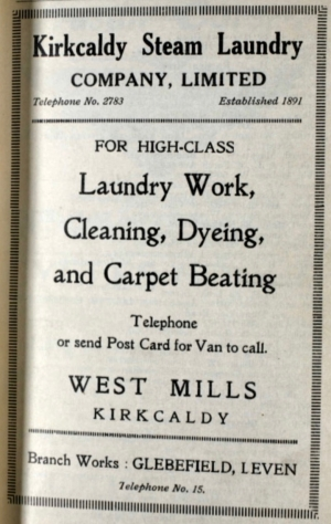 Kirkcaldy Steam Laundry Company Ltd.