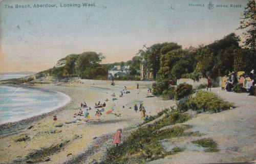 Aberdour, The Beach Looking West - eBay