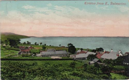 Balmerino, Kirkton from the East - eBay