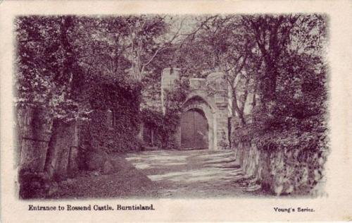 Burntisland, Entrance to Rossend Castle