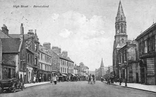Burntisland, High Street 1924 (LF)