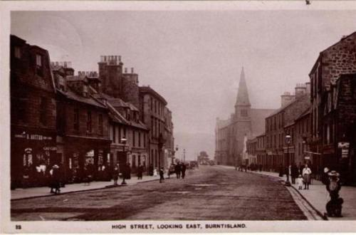Burntisland, High Street Looking East