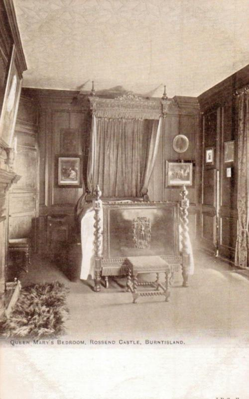 Burntisland, Queen Marys Bedroom Rossend Castle - eBay