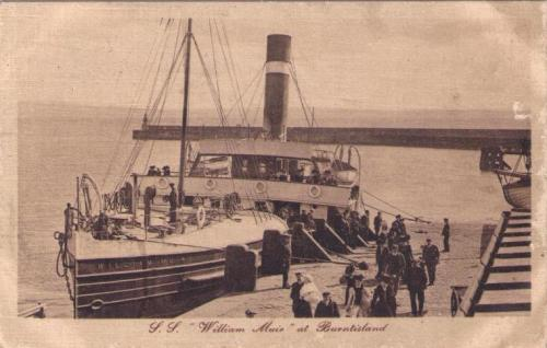 Burntisland, SS William Muir - eBay