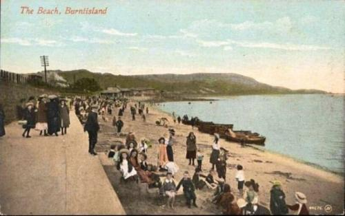 Burntisland, The Beach