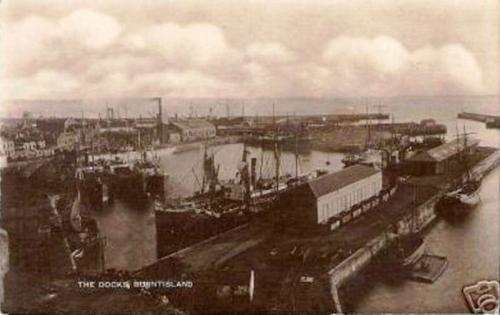 Burntisland, The Docks