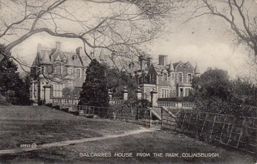 Colinsburgh, Balcarres House from the Park - eBay
