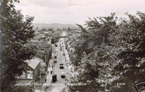 Cowdenbeath, High Street from War Memorial