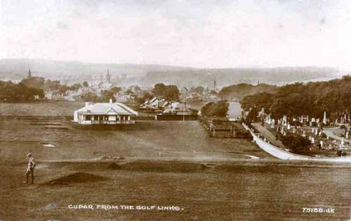 Cupar, From the Golf Links (1)