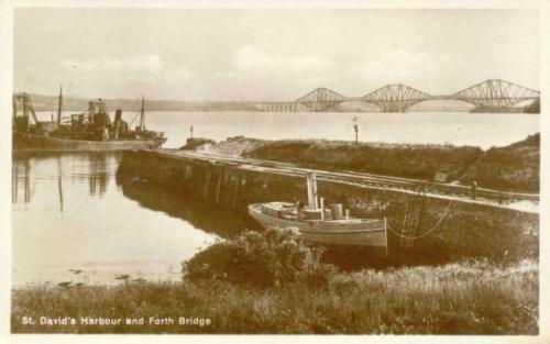 Dalgety Bay, St Davids Harbour and Forth Bridge 2