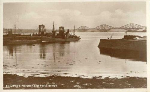 Dalgety Bay, St Davids Harbour and Forth Bridge