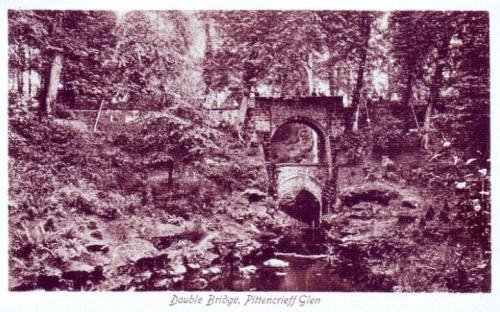 Dunfermline, Double Bridge Pittencrieff Glen