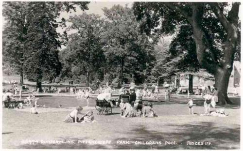 Dunfermline, Pittencrieff Park Childrens Pool
