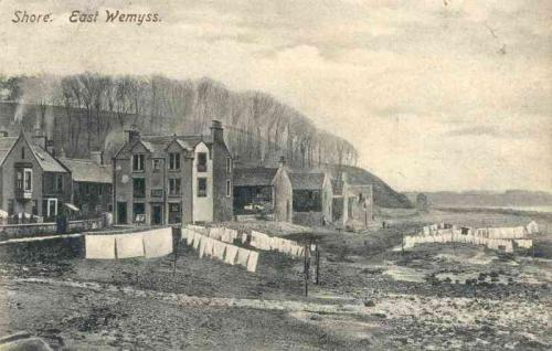 East Wemyss, Shore