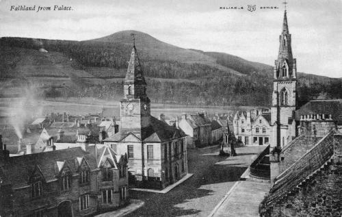 Falkland, From The Palace (LF)