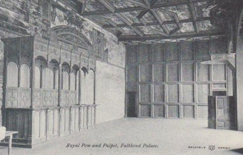 Falkland, Palace Royal Pew and Pulpit -eBay