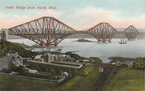 Forth Bridge, From North West - eBay