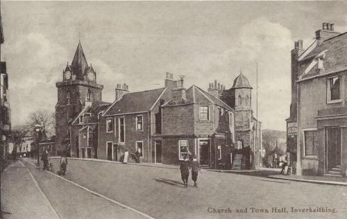 Inverkeithing, Church and Town Hall - eBay