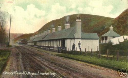Inverkeithing, County Council Cottages