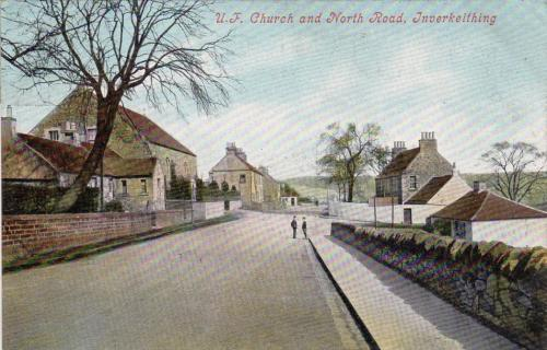 Inverkeithing, UF Church and North Road - eBay