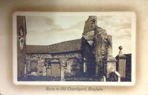 Kinghorn, Ruins in Old Churchyard - eBay