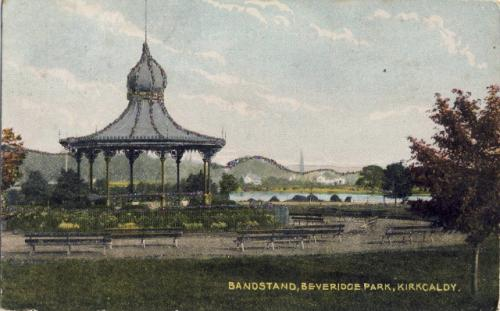 Kirkcaldy, Beveridge Park Bandstand 0010 (MS)
