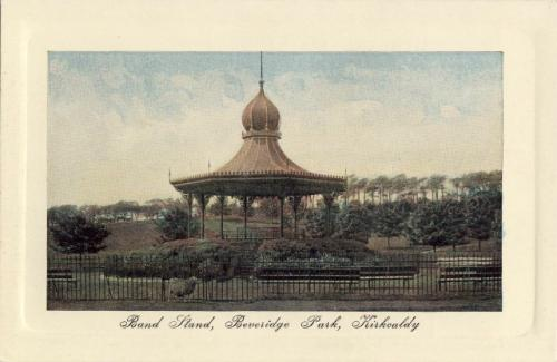 Kirkcaldy, Beveridge Park Bandstand 0012 (MS)