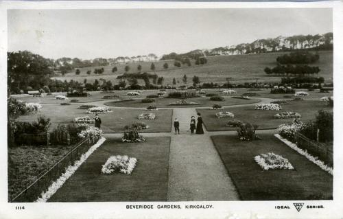 Kirkcaldy, Beveridge Park Gardens - (MS)