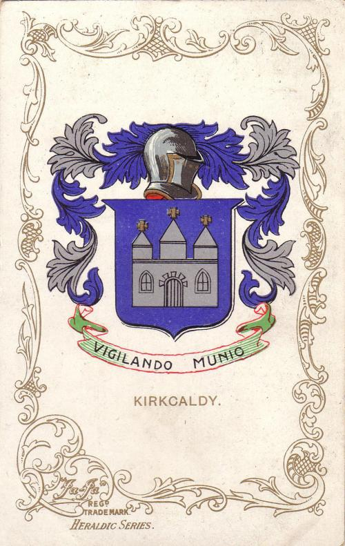 Kirkcaldy, Coat of Arms Vigilando Munio