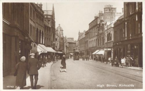 Kirkcaldy, High Street looking East