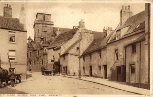 Kirkcaldy, Old Parish Church Kirk Wynd - eBay