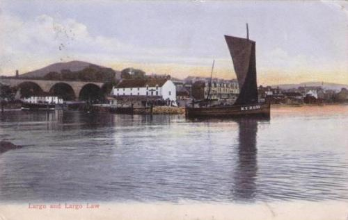 Largo and Largo Law, Kirkcaldy fishing boat