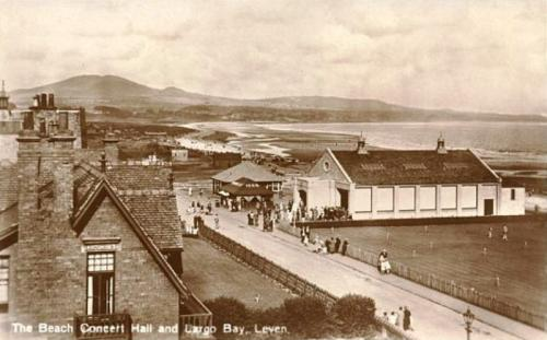 Leven, The Beach Concert Hall and Largo Bay