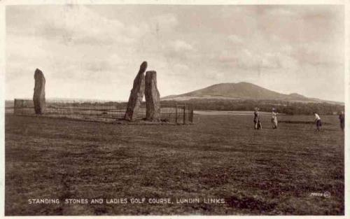Lundin Links, Standing Stones and Ladies Golf Course