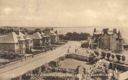 Lundin Links, Victoria Boarding House and Largo Bay
