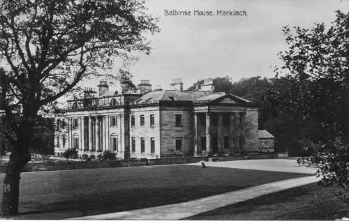 Markinch, Balbirnie House 1912 (LF)