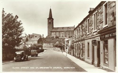 Markinch, Glass Street and St Drostans Church - eBay