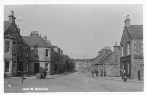 Markinch, High Street 1914 (LF)