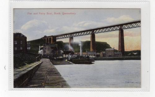 North Queensferry, Pier and Ferry Boat - eBay
