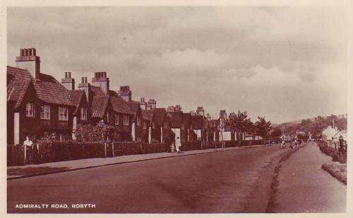 Rosyth, Admiralty Road