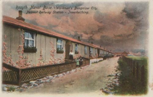Rosyth, Naval Base Workmens Cottages Bungalow City - eBay