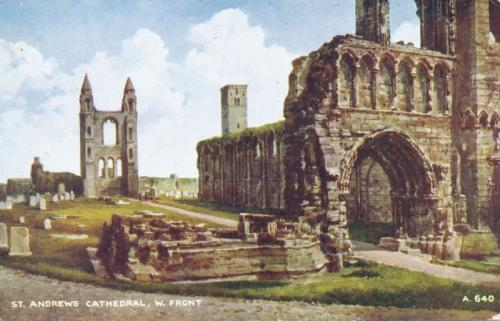 St Andrews, Cathedral West