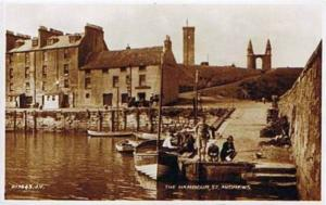 St Andrews, The Harbour - Delcampe