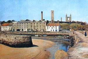 St Andrews, The Old Harbour - Delcampe