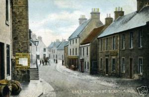 Strathmiglo, High Street, East End - eBay