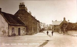 Strathmiglo, High Street, West End - eBay