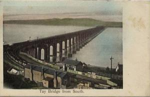 Wormit, Tay Bridge From South Wormit